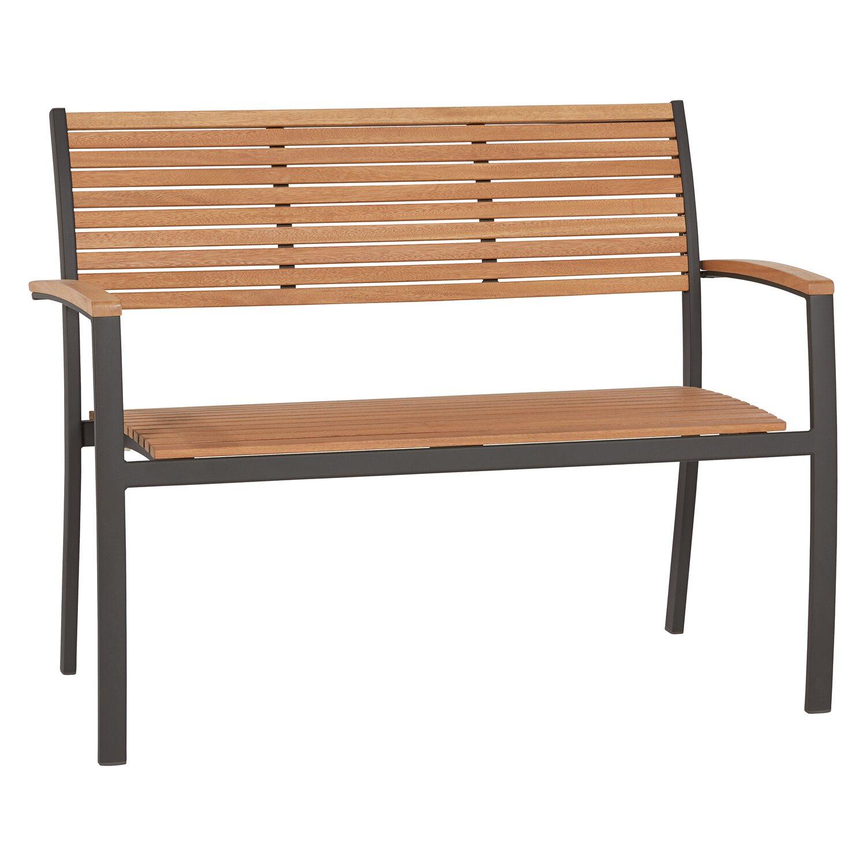 Gartenbank Bonlee 2 Sitzer Fsc 84 5 Cm X 114 Cm X 60 25 Cm Kaufen Bei Obi