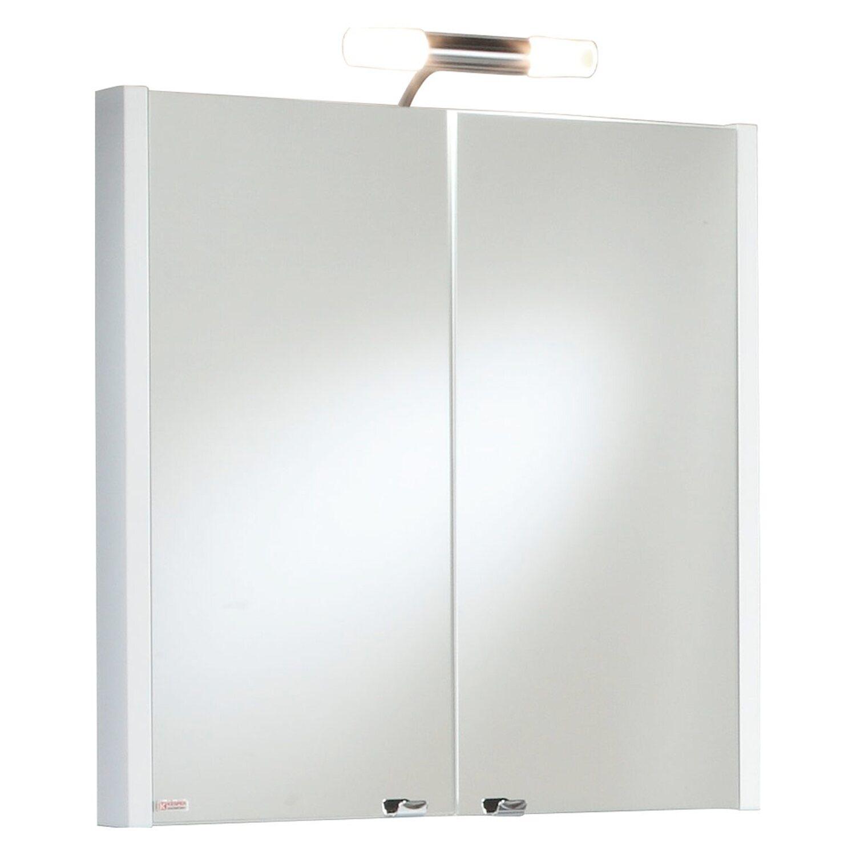 Kesper spiegelschrank atlanta 64 2 cm wei eek c kaufen for Spiegelschrank obi