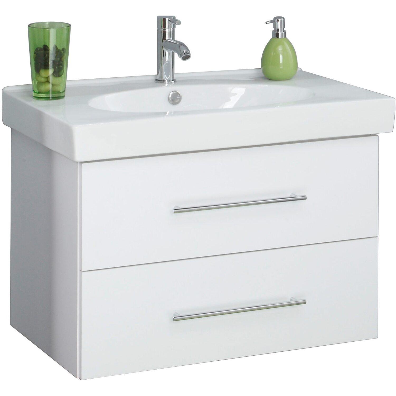 kesper waschplatz novara wei 80 cm mit ausz gen 2 teilig kaufen bei obi. Black Bedroom Furniture Sets. Home Design Ideas