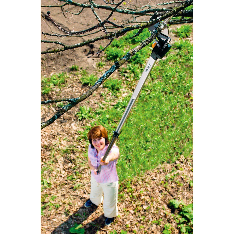 fiskars teleskop schneidgiraffe 240 410 cm mit adapter baums ge kaufen bei obi. Black Bedroom Furniture Sets. Home Design Ideas