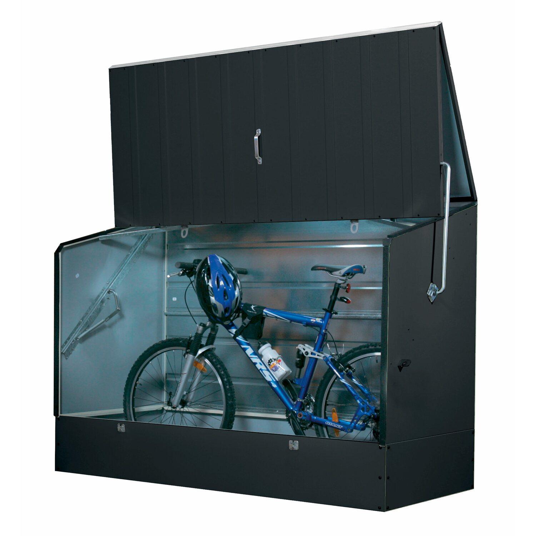 Tepro Fahrradbox Anthrazit  196 x 89 x 133 cm