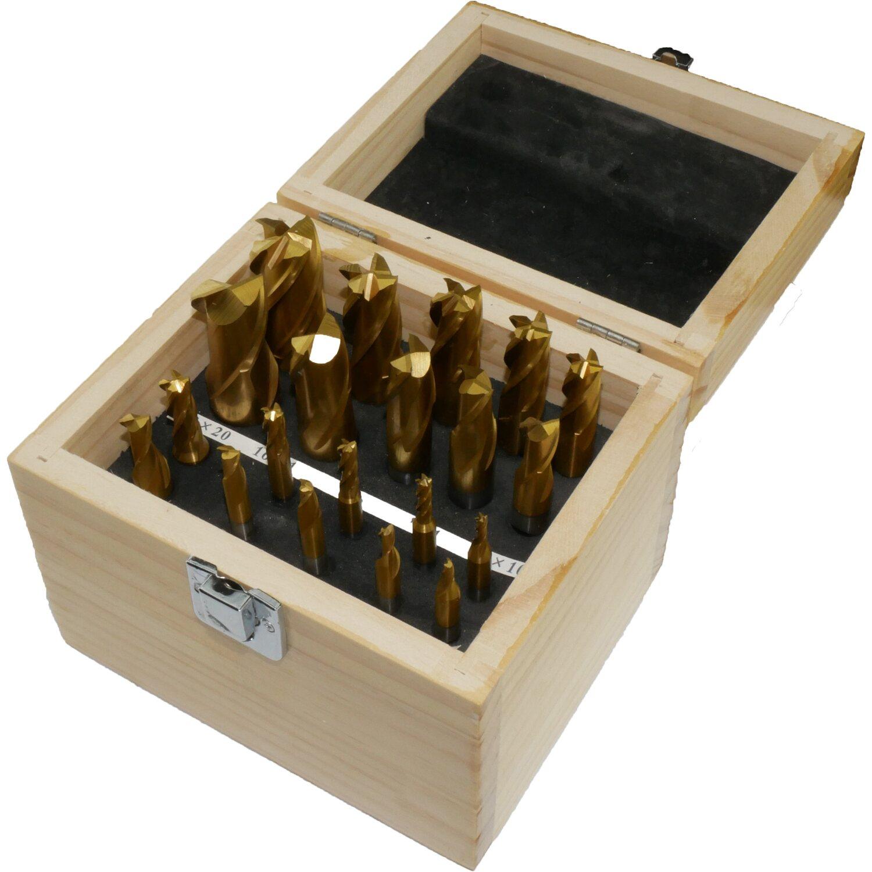 Rotwerk Hss Tin Frasersatz 20 Teilig In Holzkiste Kaufen Bei Obi