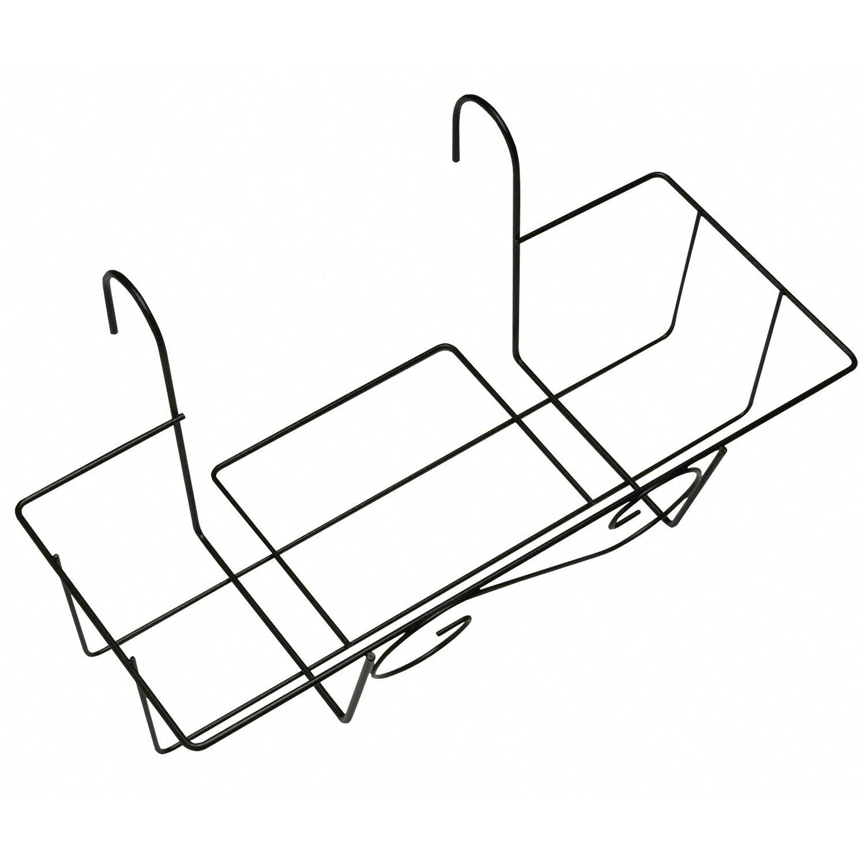OBI Balkonkasten-Korb 55 cm Anthrazit