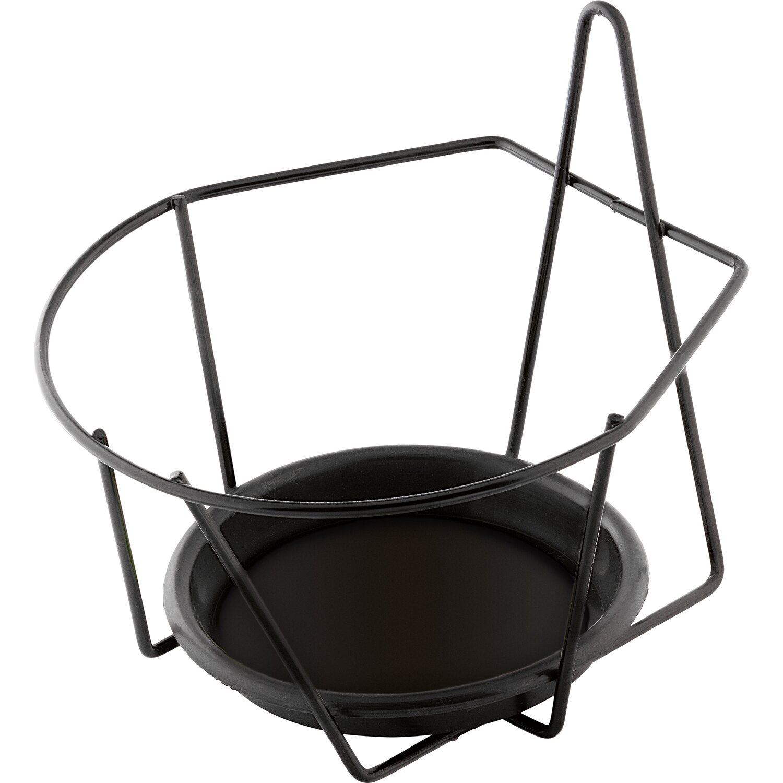 OBI Mauer-Topfhalter Anthrazit Ø 20 cm