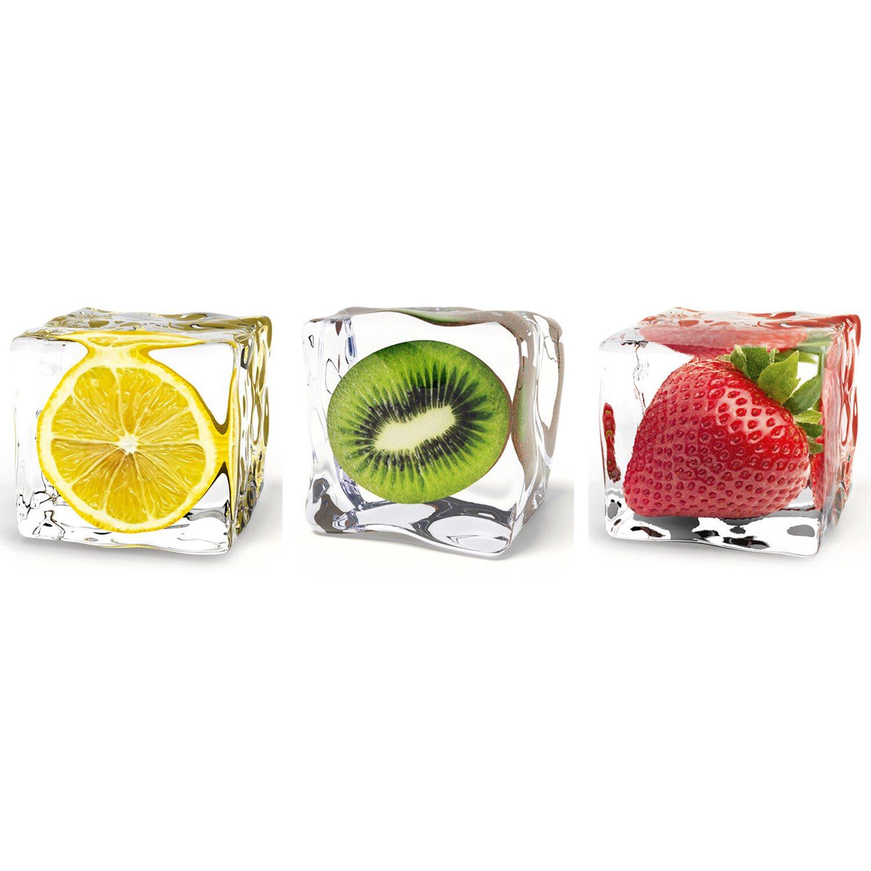 Eurographics  Wandtattoo 3er-Set Iced Fruits DP
