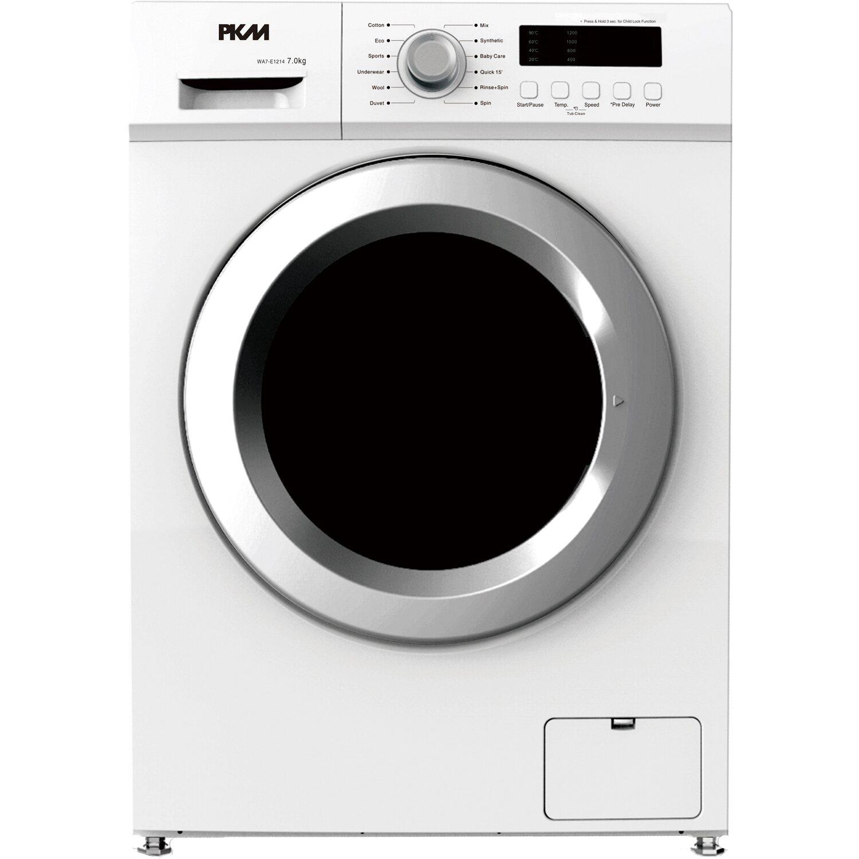 PKM Waschmaschine WA7-E1214 Weiß 7 kg EEK: A+++ | Bad > Waschmaschinen und Trockner > Frontlader | Weiß | PKM