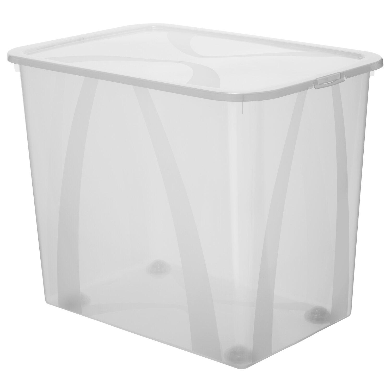 rotho clear box arco mega transparent 70 l kaufen bei obi. Black Bedroom Furniture Sets. Home Design Ideas