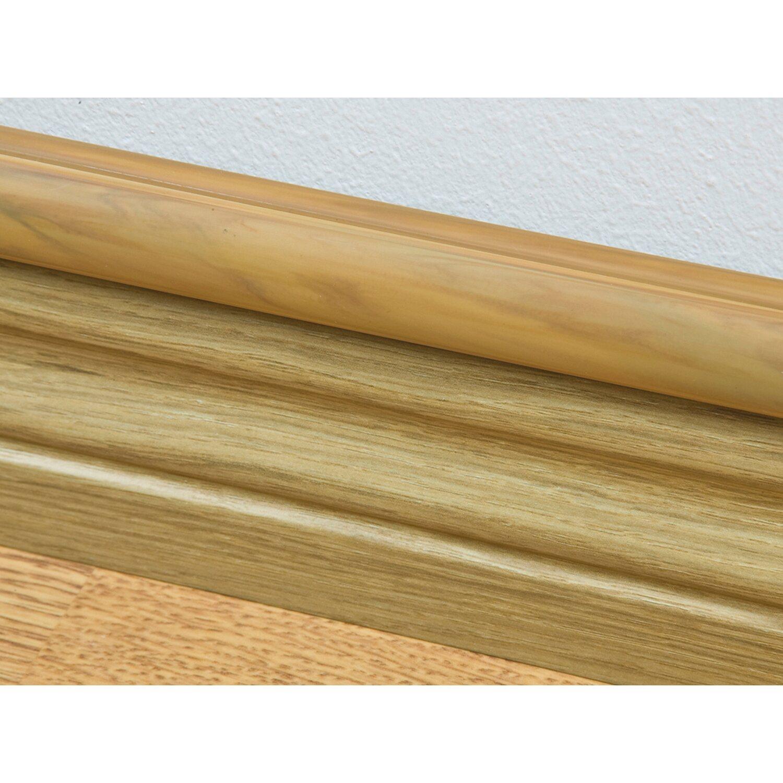 Sockelleiste Weiss Kabelkanal Holz Zuhause