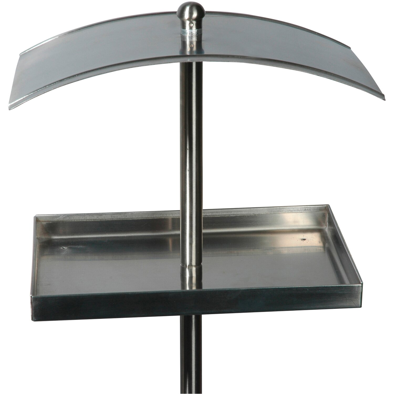 dobar rechteckige design futterstation edelstahl mit st nder kaufen bei obi. Black Bedroom Furniture Sets. Home Design Ideas