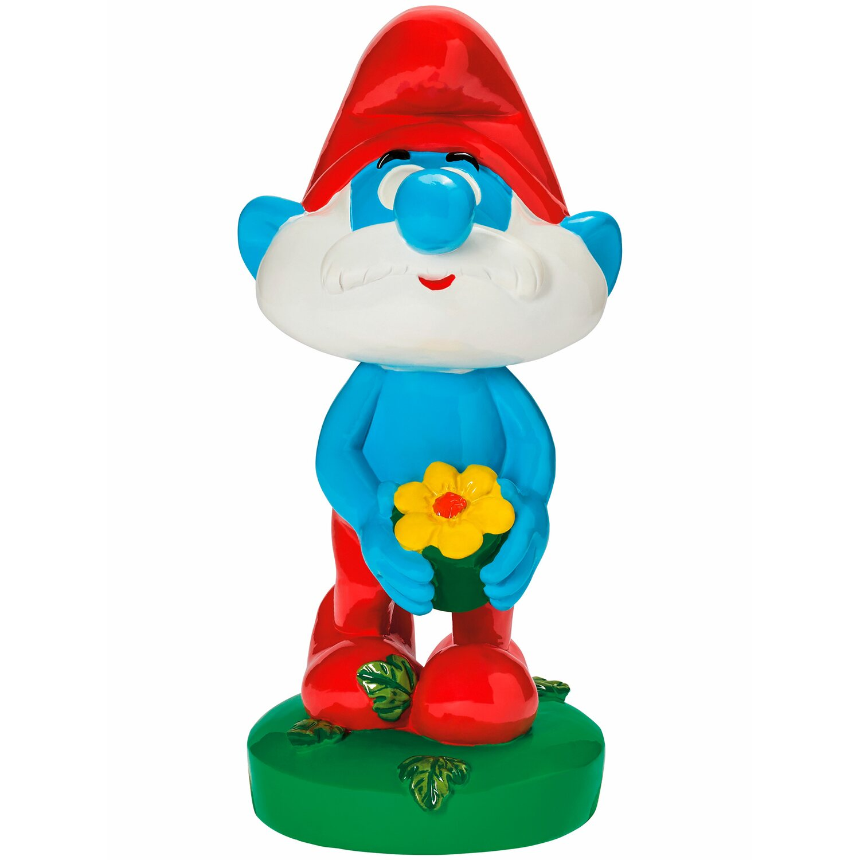 Deko figur papa schlumpf 30 cm kaufen bei obi - Schlumpf weihnachten ...