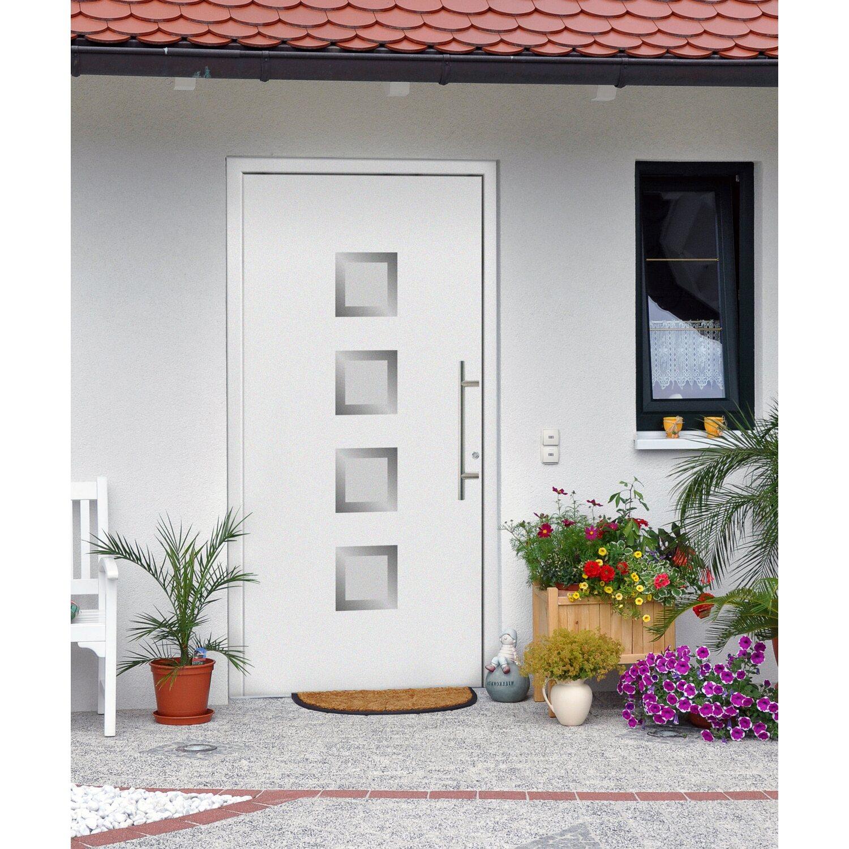 aluminium haust r 110 cm x 210 cm f 55201 wei anschlag rechts kaufen bei obi. Black Bedroom Furniture Sets. Home Design Ideas