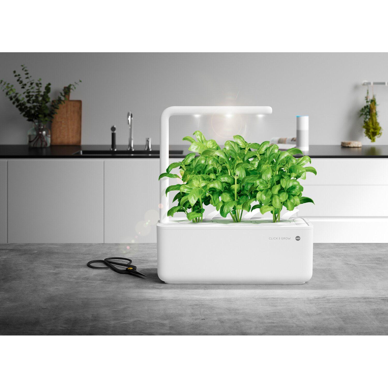 Emsa Indoor Garten Smart Garden Click Grow 3 Weiss