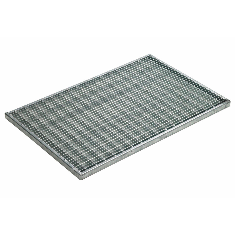 ACO  Gitterrost 60 x 40 cm mit Zarge Maschenweite 30 x 10 mm