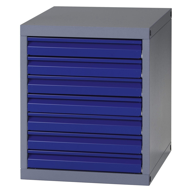 K pper unterschrank modul 7 schubladen 66 cm x 55 cm x 56 cm kaufen bei obi - Schubladen unterschrank ...