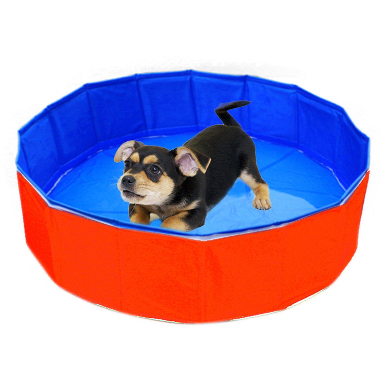 Heim Outdoor-Dog-Swimming Pool Durchmesser 80 c...