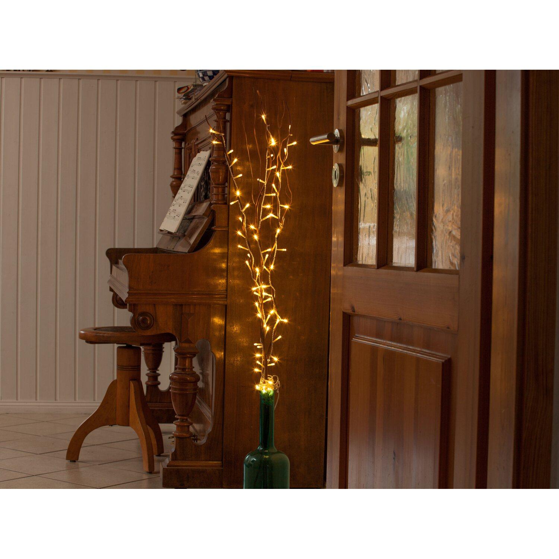 Weihnachtsdeko Laden Berlin.Dekozweige 3er Set Natur Mit 80 Warmweißen Leds Innen Und Außen