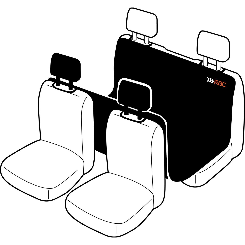 Heim RAC Hunde-Sitzschoner für Rücksitze 148 cm x 127 cm