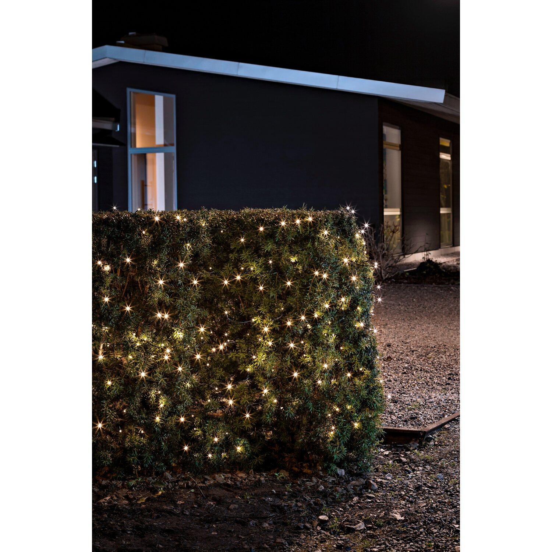 Konstsmide led lichterkette 240 led warmwei mit timer for Lichterkette weihnachtsbaum obi