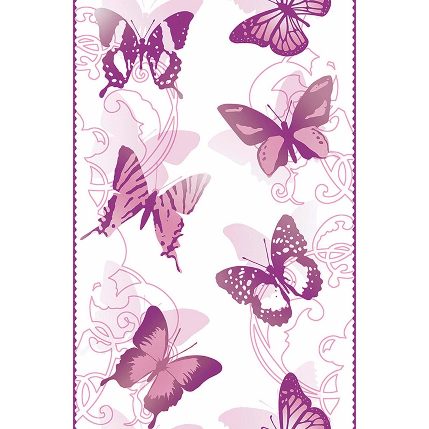 AS Creation A.S. Creation Pop.up-Panel Schmetterling Lila