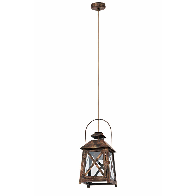 eglo pendelleuchte vintage rostfarben eek e a kaufen bei obi. Black Bedroom Furniture Sets. Home Design Ideas