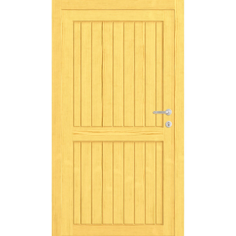 Nebeneingangstür kaufen  Holz-Nebeneingangstür Nürnberg 88 cm x 198 cm DIN Links kaufen bei OBI