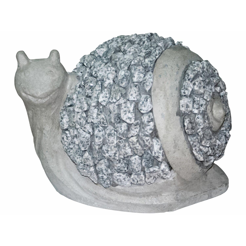 Deko-Figur Schnecke Rundes Haus Schiefer 17 cm Preisvergleich