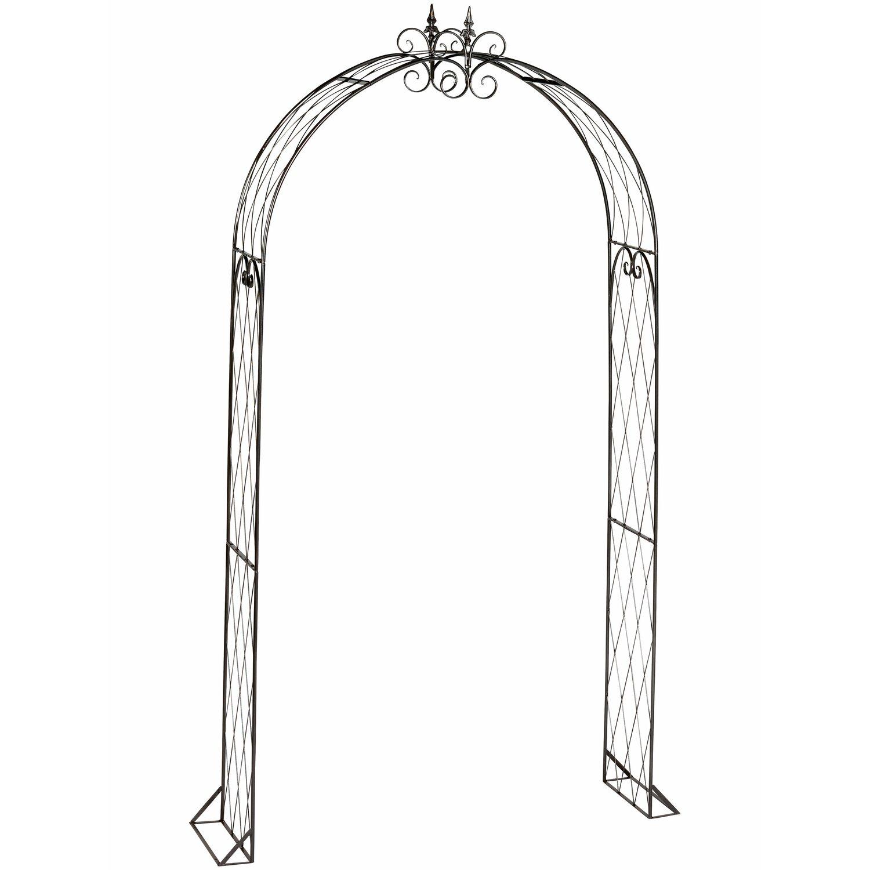 obi rosenbogen inglewood 250 cm anthrazit kaufen bei obi. Black Bedroom Furniture Sets. Home Design Ideas