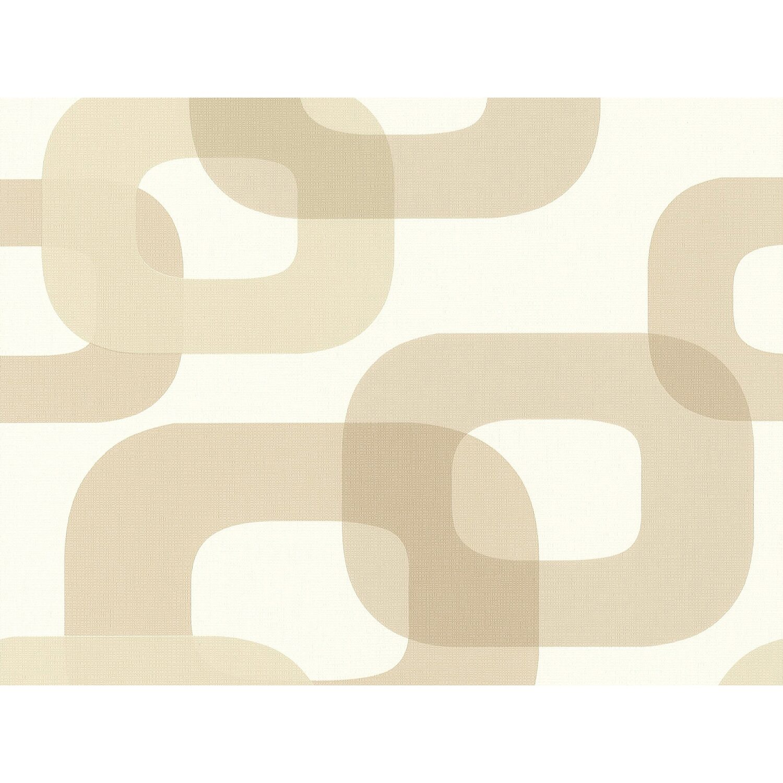 Contzen  Vliestapete Muster Braun