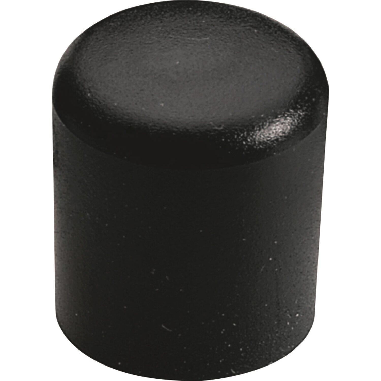 hettich fu kappe f r rundrohre 16 mm schwarz kaufen bei obi. Black Bedroom Furniture Sets. Home Design Ideas