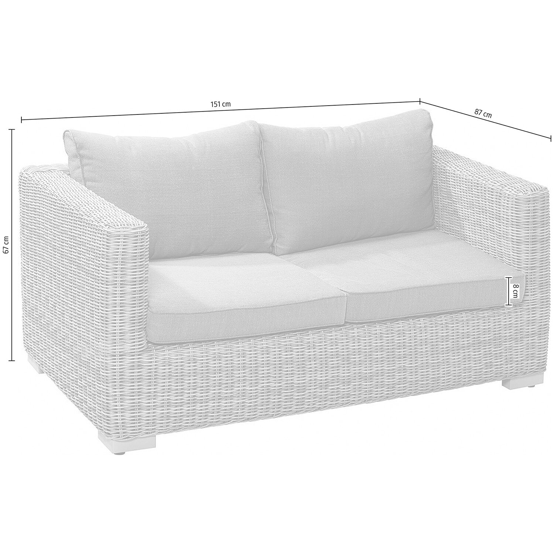 OBI Modulargruppe Stratford 2er Couch Nature kaufen bei OBI