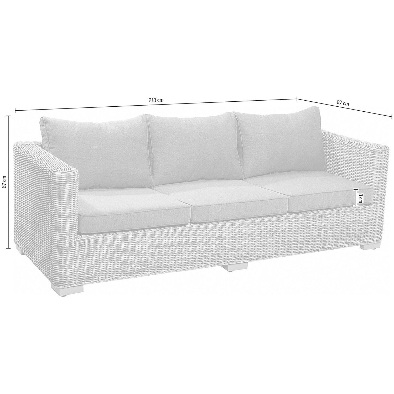 obi 3er couch aus modulargruppe stratford nature kaufen bei obi. Black Bedroom Furniture Sets. Home Design Ideas