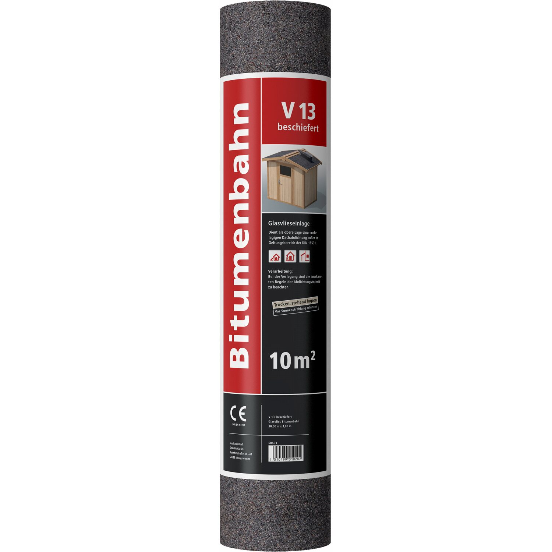bitumen dachpappe v13 beschiefert 10m kaufen bei obi. Black Bedroom Furniture Sets. Home Design Ideas