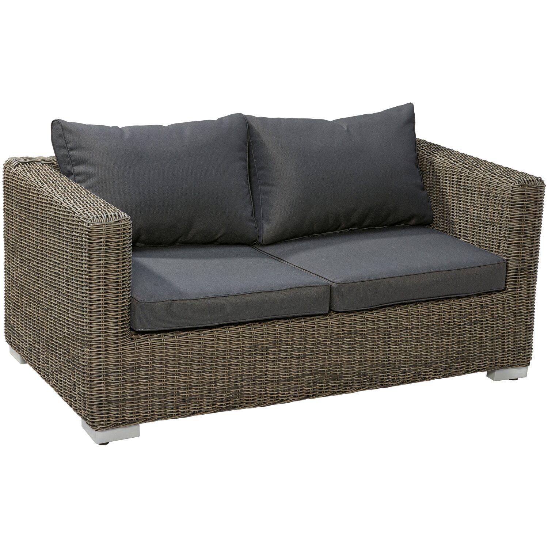 Fantastisch OBI Modulargruppe Stratford 2er Couch Nature Dark kaufen bei OBI CK95