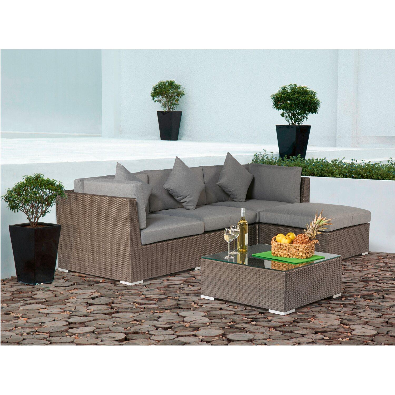 Gartenmöbel set rattan obi  OBI Gartenmöbelgruppe Alton 5-teilig kaufen bei OBI