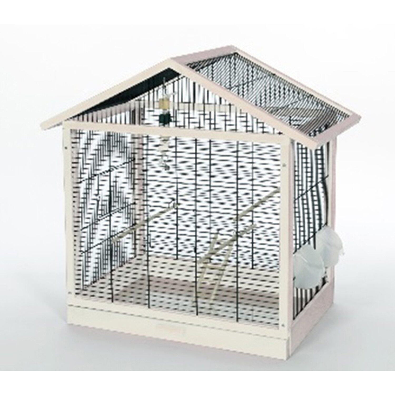 Skyline Vogelkäfig Antonia Weiß 70 cm x 40 cm x 67 cm   Garten > Tiermöbel > Vogelkäfige-Volieren   Skyline