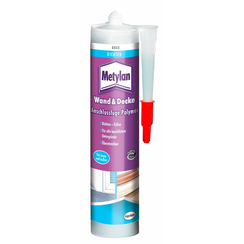 Metylan Wand & Decke Anschlussfuge Polymer Grau 300 g   Baumarkt > Wand und Decke > Fliesen   Grau   Metylan