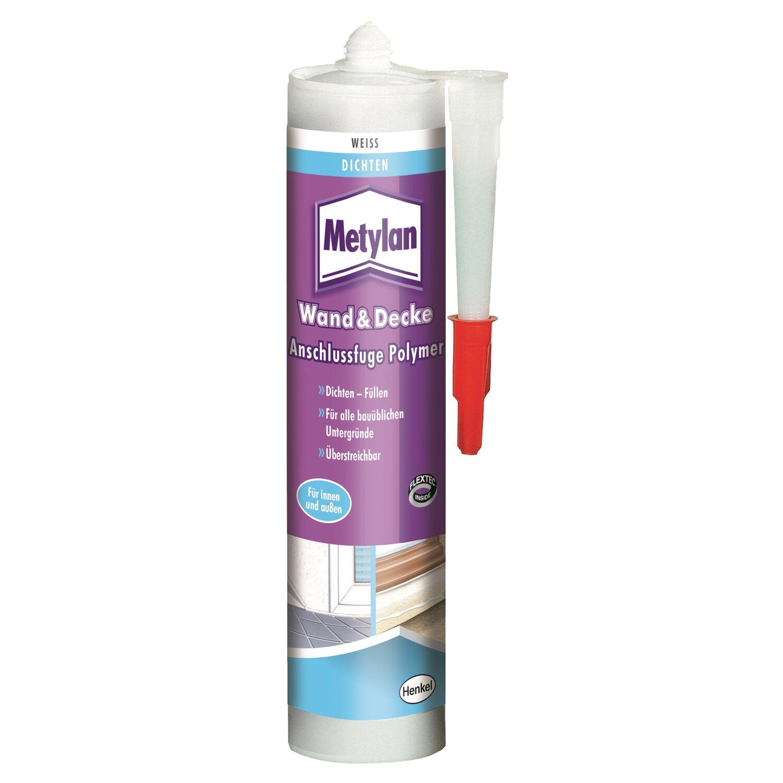 Metylan Wand & Decke Anschlussfuge Polymer Weiß 300 g
