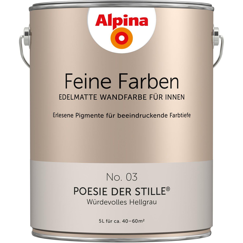 Alpina Feine Farben No 3 Poesie Der Stille Edelmatt 5 Liter Kaufen Bei Obi