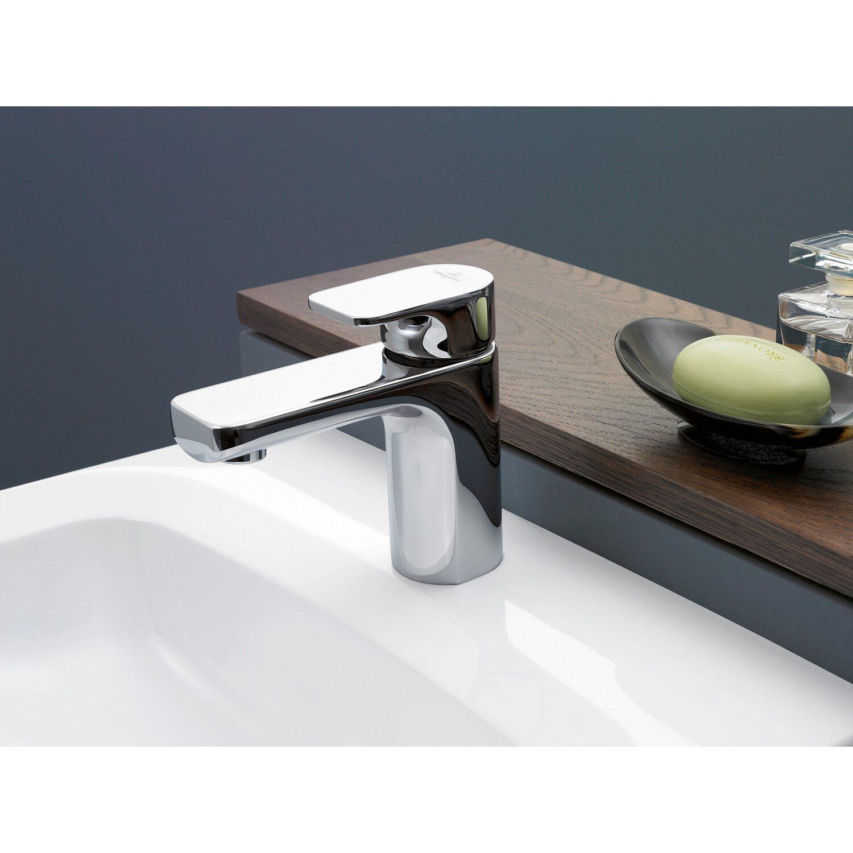 Waschbeckenarmatur Chrom Waschtischarmatur Wasserhahn Badarmatur Ablauf Garnitur