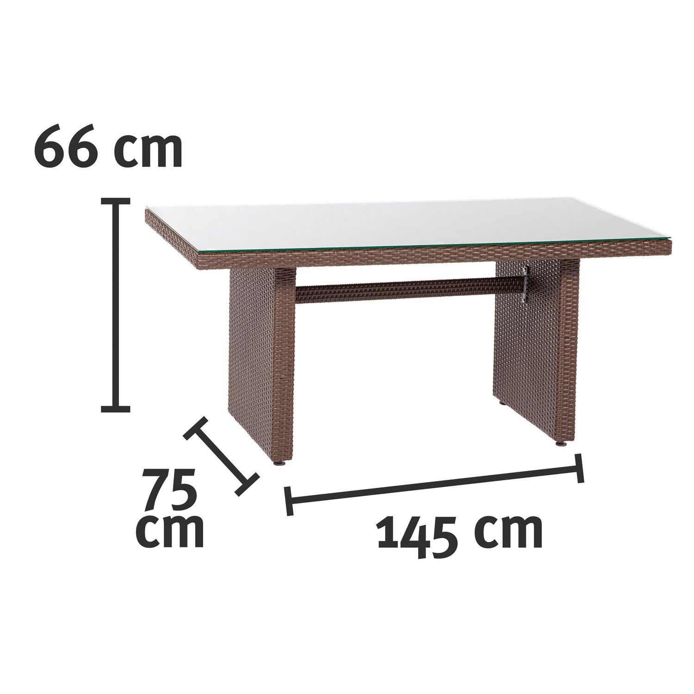 esstisch lounge gruppe 4 teilig kaufen bei obi. Black Bedroom Furniture Sets. Home Design Ideas