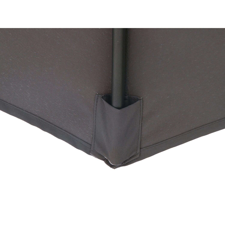 obi ampelschirm alvarado rund anthrazit 300 cm kaufen bei obi. Black Bedroom Furniture Sets. Home Design Ideas