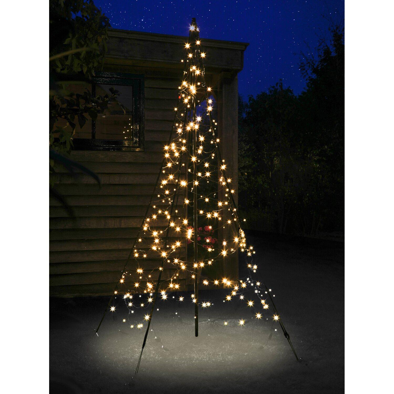 fairybell led weihnachtsbaum 300 warmwei e leds 200 cm au en kaufen bei obi. Black Bedroom Furniture Sets. Home Design Ideas