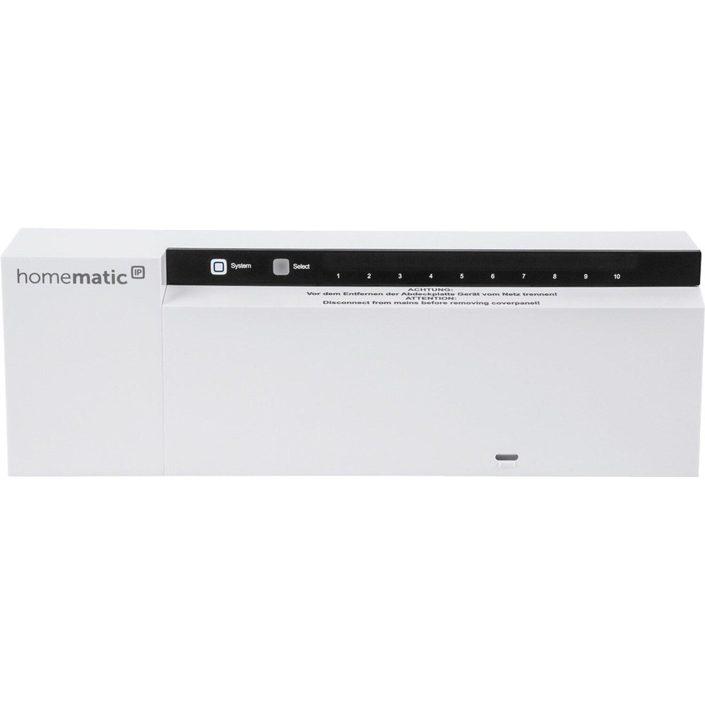 Homematic IP Aktor Fußbodenheizung 10-fach, 230 V