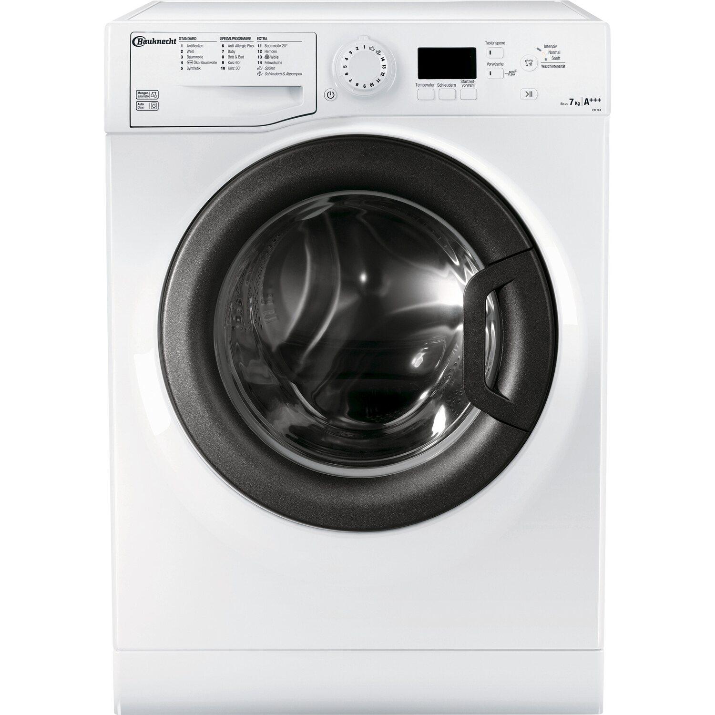 Bauknecht Waschmaschine EW 7F4 Weiß 7 kg EEK: A+++