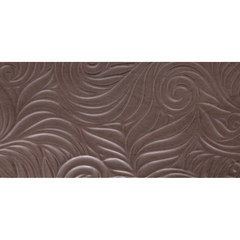 Sonstige Wandfliese Myra Relief Braun 30 cm x 60 cm