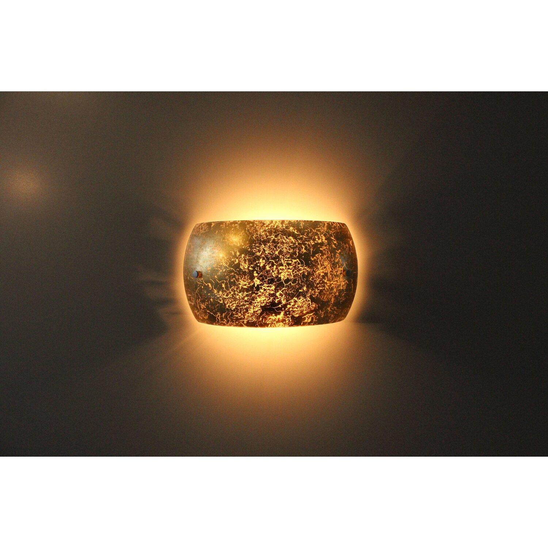 Luce Design Wandleuchte Arc Gold Eek E A Kaufen Bei Obi