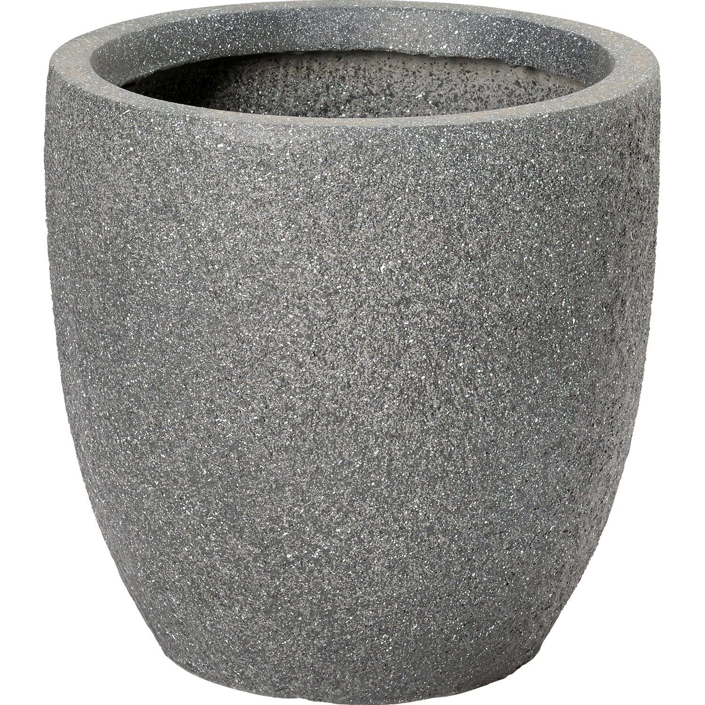 obi pflanztopf lavalle 25 5 cm anthrazit kaufen bei obi. Black Bedroom Furniture Sets. Home Design Ideas