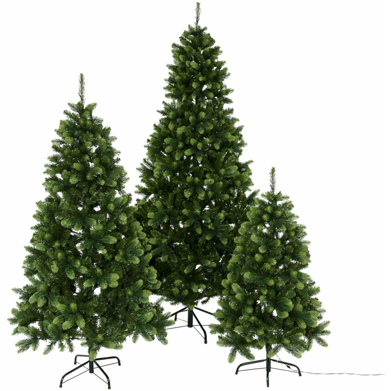Fertiger Künstlicher Weihnachtsbaum.Led Tannenbaum 130 Cm 100 Warmweiße Leds