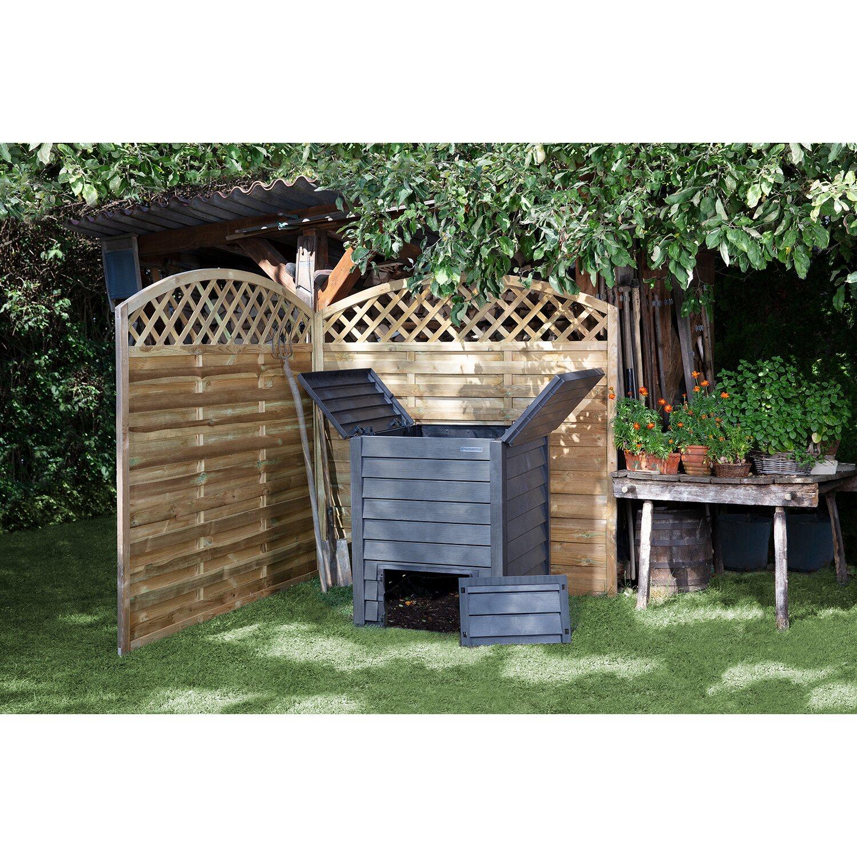 Garantia Thermo Wood Komposter 600 L Kaufen Bei Obi