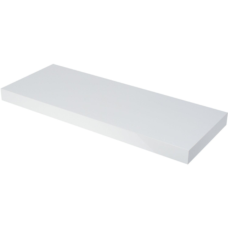 duraline wandboard xl4 hochglanz wei 60 cm x 23 5 cm x 4 cm kaufen bei obi. Black Bedroom Furniture Sets. Home Design Ideas